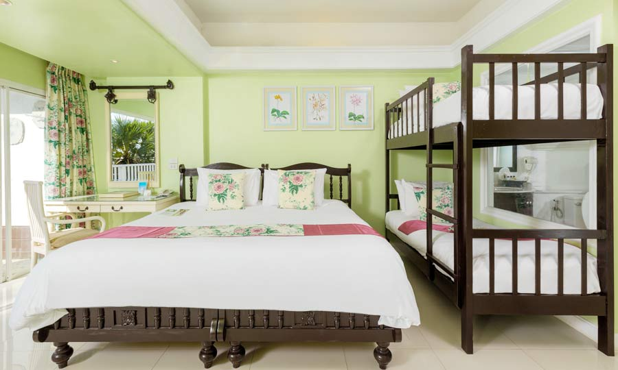 Family Deluxe Room - Bunk Bed